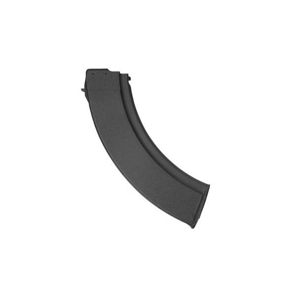 Arsenal Bulgarian 7.62x39 40 Rd, Black Polymer Steel Lined Slab-Side Magazine