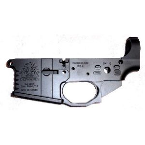 Black Rain BRO-MLR Billet Stripped AR-15 Receiver