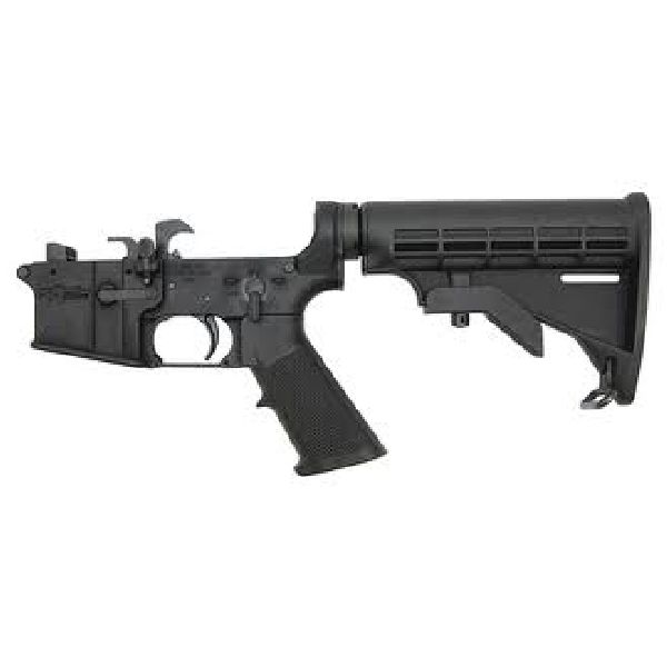 CMMG Dedicated AR-15 9mm Lower with 6 Position Stock