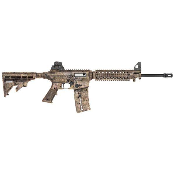 """Mossberg 715 Tactical AR 22 LR 25+1 16"""" Camo"""