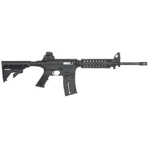 "Mossberg 715 Tactical AR 22 LR 25+1 16"" Black"