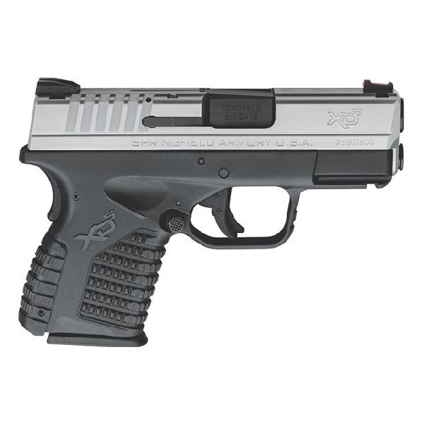Springfield XDS 9 Slim 7+1 rds 3.3 Barrel SS
