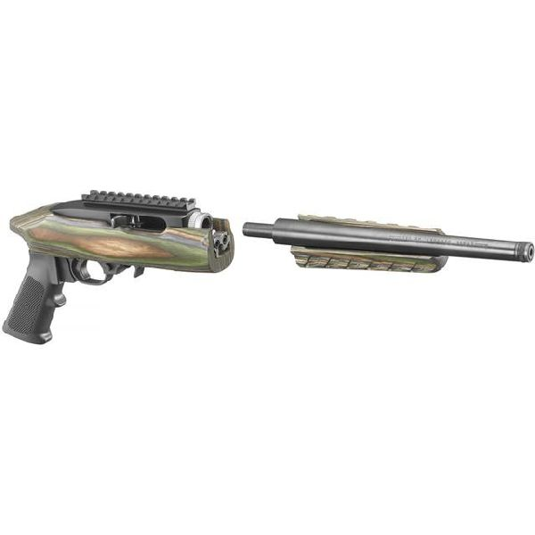 """Ruger 4918 22 Charger Takedown Pistol 22 LR 10"""" TB 15+1 Laminate Stock"""