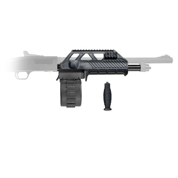 AT-05100 Venom Shotgun Mag Conversion Kit 10 Rotary Mag Wraptor Forend