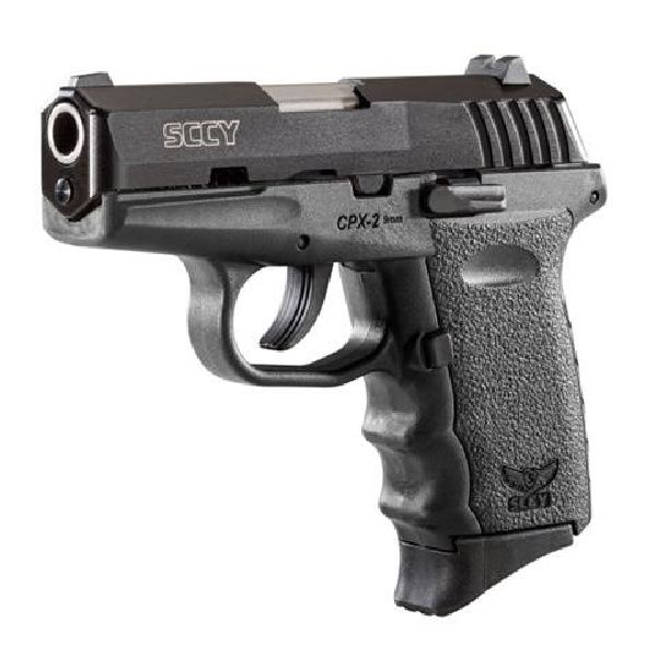 "SCCY CPX-2CB Gen 2 DAO 9mm 3.1"" 10+1 NMS Black"