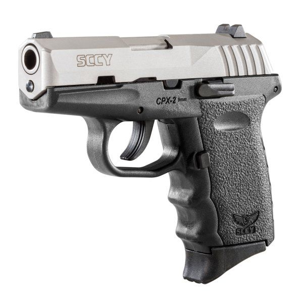"SCCY CPX-2TT Gen 2 DAO 9mm 3.1"" 10+1 Stainless Slide"